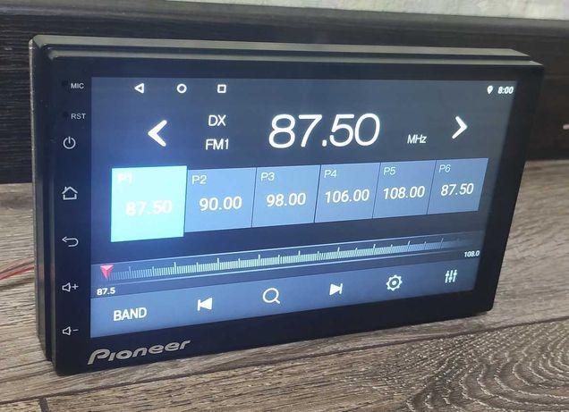 Автомагнитола Pioneer Pi-909 2Din Android, 16Гб, GPS, Wi-Fi 4/60W