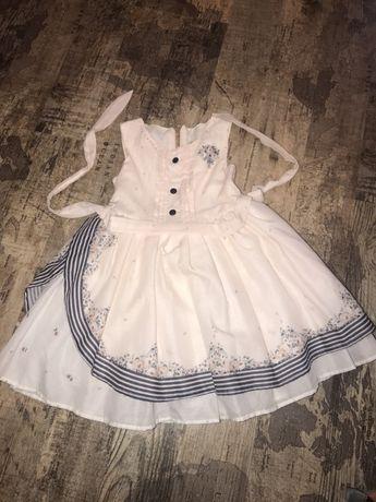 Нежное платье для принцессы на 2 -3 года супер на Новый год