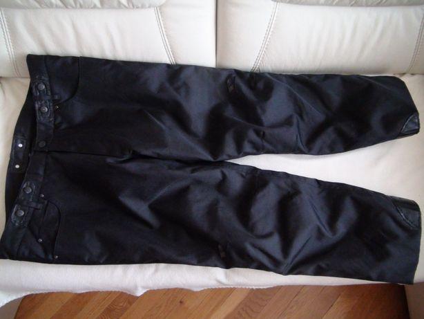 PROBIKER spodnie na motor motocyklowe 30 / XXL + podpinka ochraniacze