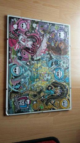 Puzzle Monster Hight 39x38 obraz