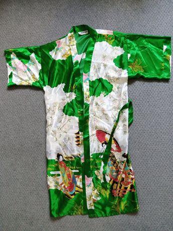 Жіночий атласний халат