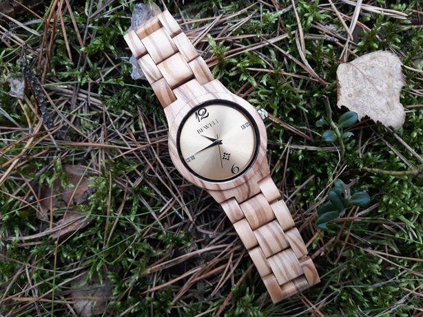 Zegarek z Drewna. Damski. Nowy model gwarancja.