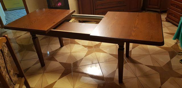 Stół rozkładany drewniany
