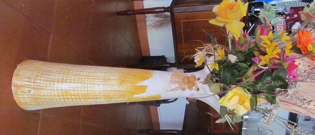 Vaso de flores DECORATIVO de chão decorativo, alt. 70 cm