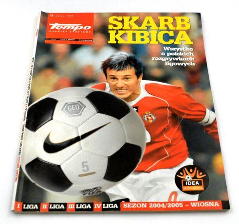 Skarb Kibica - I, II, III, IV liga 2004/2005 - wiosna
