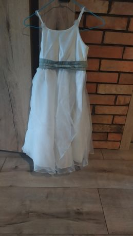 Elegancka sukienka na około 8-9 lat