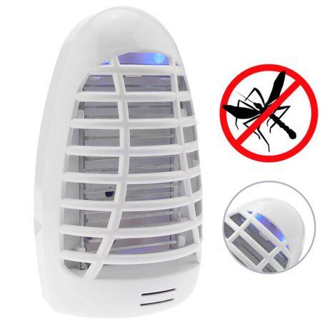 Mata moscas e mosquitos,  Elétrico com lâmpada