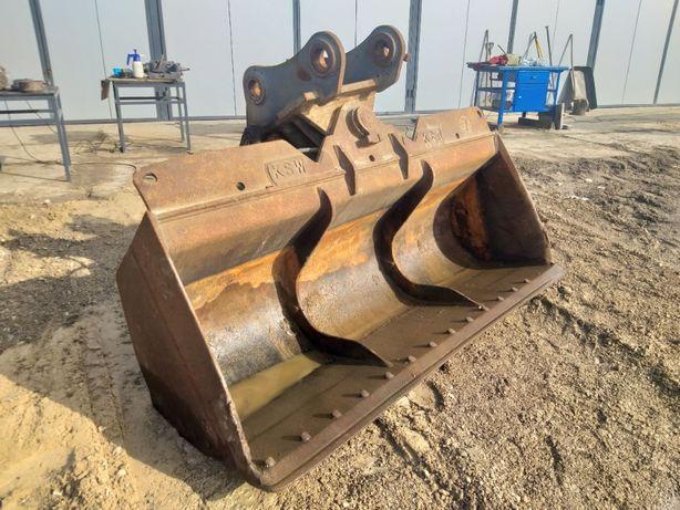 Łyżka skarpowa 220 cm hydrauliczna KSW MASCHINENBAU - NIEMCY.