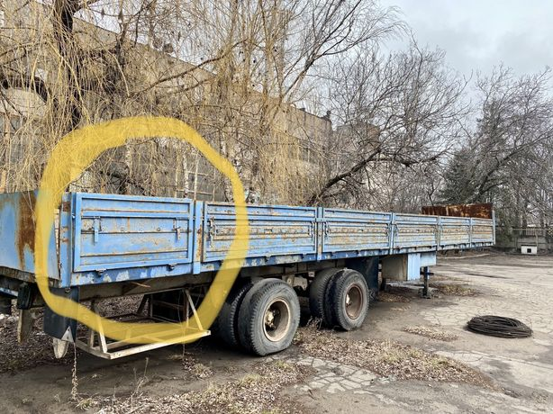 Полуприцеп бортовой МАЗ 93866
