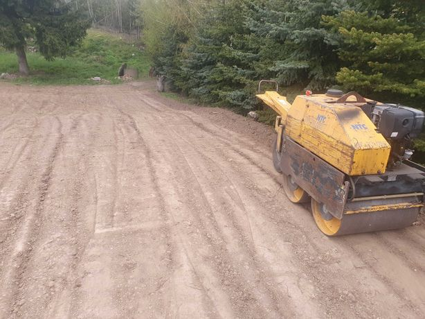 Walec Ręczny NTC Diesel 1025kg