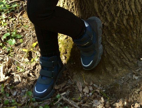 Ботинки 19.5 см стелька,31 размер.