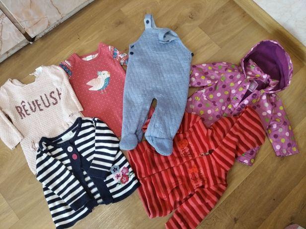 Пакет вещей для девочки на рост 62-68