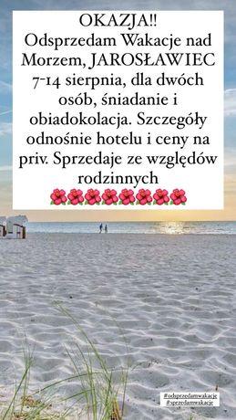 Odsprzedam wakacje Jarosławiec  nad Morzem Hotel *** NAT Jarosławiec