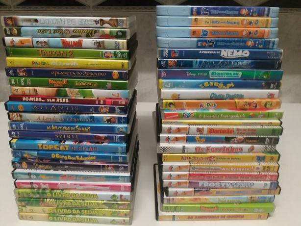 DVDs para Crianças Falado em Português