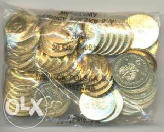 Woreczki mennicze monety 2 zł NG
