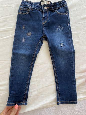 Джинсы на девочку, джинсы Zara