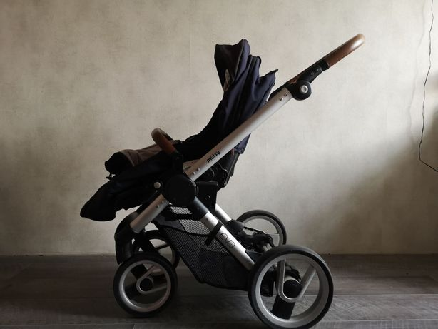 Детская коляска Mutsy Evo б/у + в подарок детское автокресло.