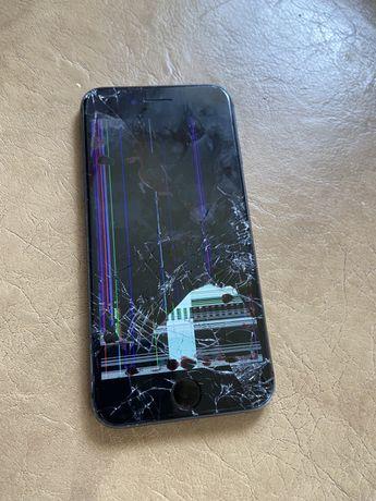 iPhone 8 rozbity