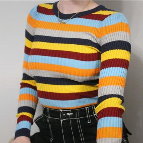 Kolorowy sweterek New yorker