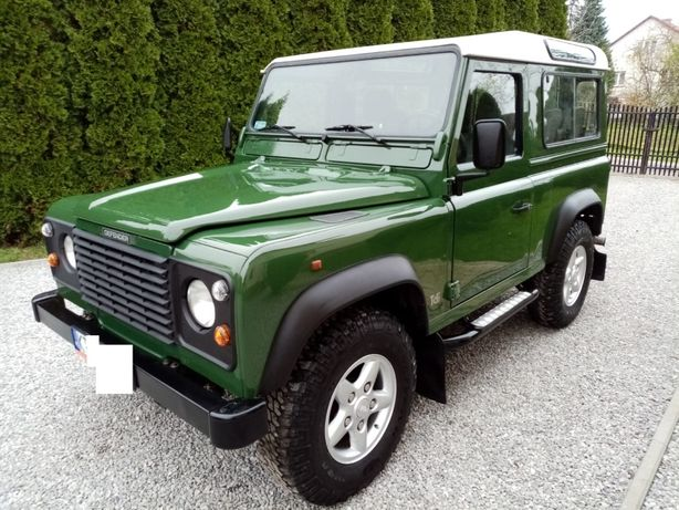 Land Rover Defender 90 300 TDi Brak Rdzy - Rodzynek !