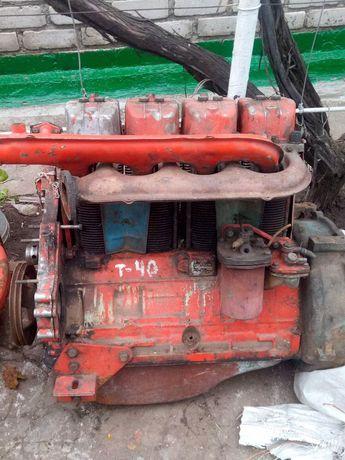 Продам двигун Т-40