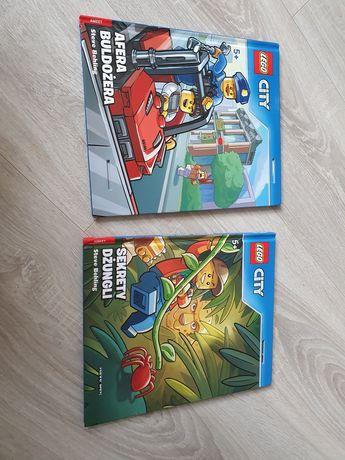Lego city Afera Buldożera i Sekrety Dżungli Steve Behling książki