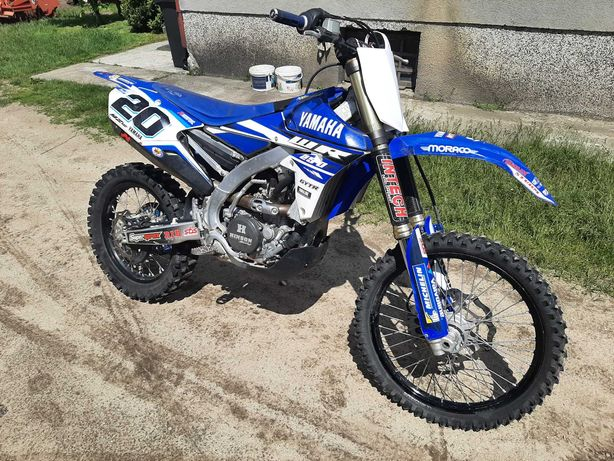 Yamaha Wr250F YZF 2016r Akrapovic Gytr Hinson