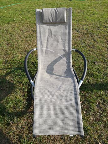 Fotel bujany aluminiowy