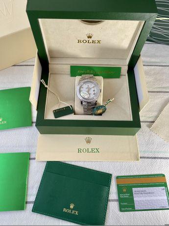 Relogio Rolex President Diamond Novo
