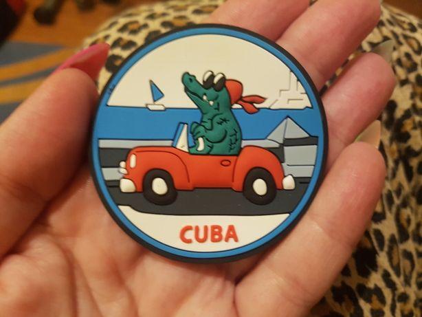 Śliczny nowy magnes na lodówkę Kuba
