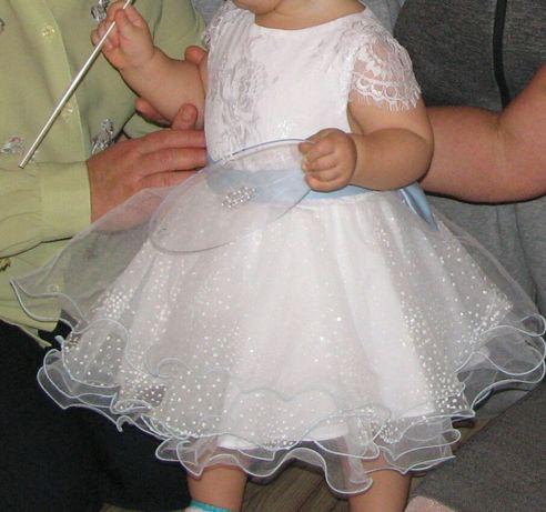 Платье пышное на 1 годик. праздничное народное платье на свадьбу