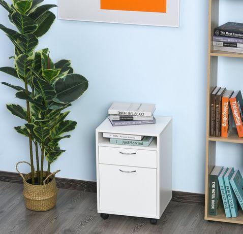 Kontener na kółkach szafka biurowy z szufladą