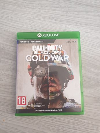 Gra call of duty cold war xbox one