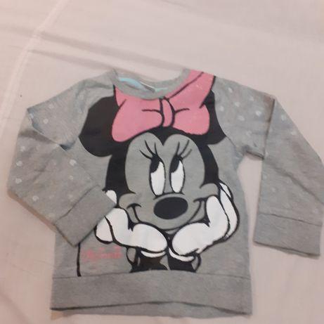 Bluzeczka Minnie Mouse Disney jak nowa 4-5 lat ok 104