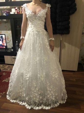 Весільна сукня,плаття,шубка