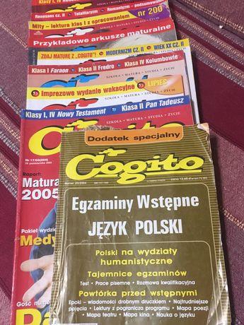 Numery czasopisma Cogito przygotowanie do matury
