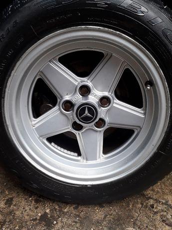 Felgi koła AMG PENTA Mercedes 123 R107 126 SL SEC W 124 custom beczka