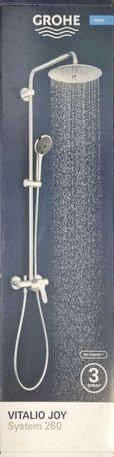 GROHE Vitalio Joy System 260 Sistema de duche (NOVO)