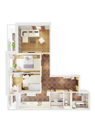 3-х комнатную квартиру в строящемся доме на 4м Таврическом