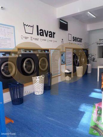 Trespasse de negócio na área de lavandaria e engomadoria