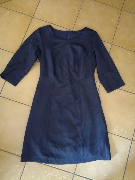 Sukienka z imitacji skóry