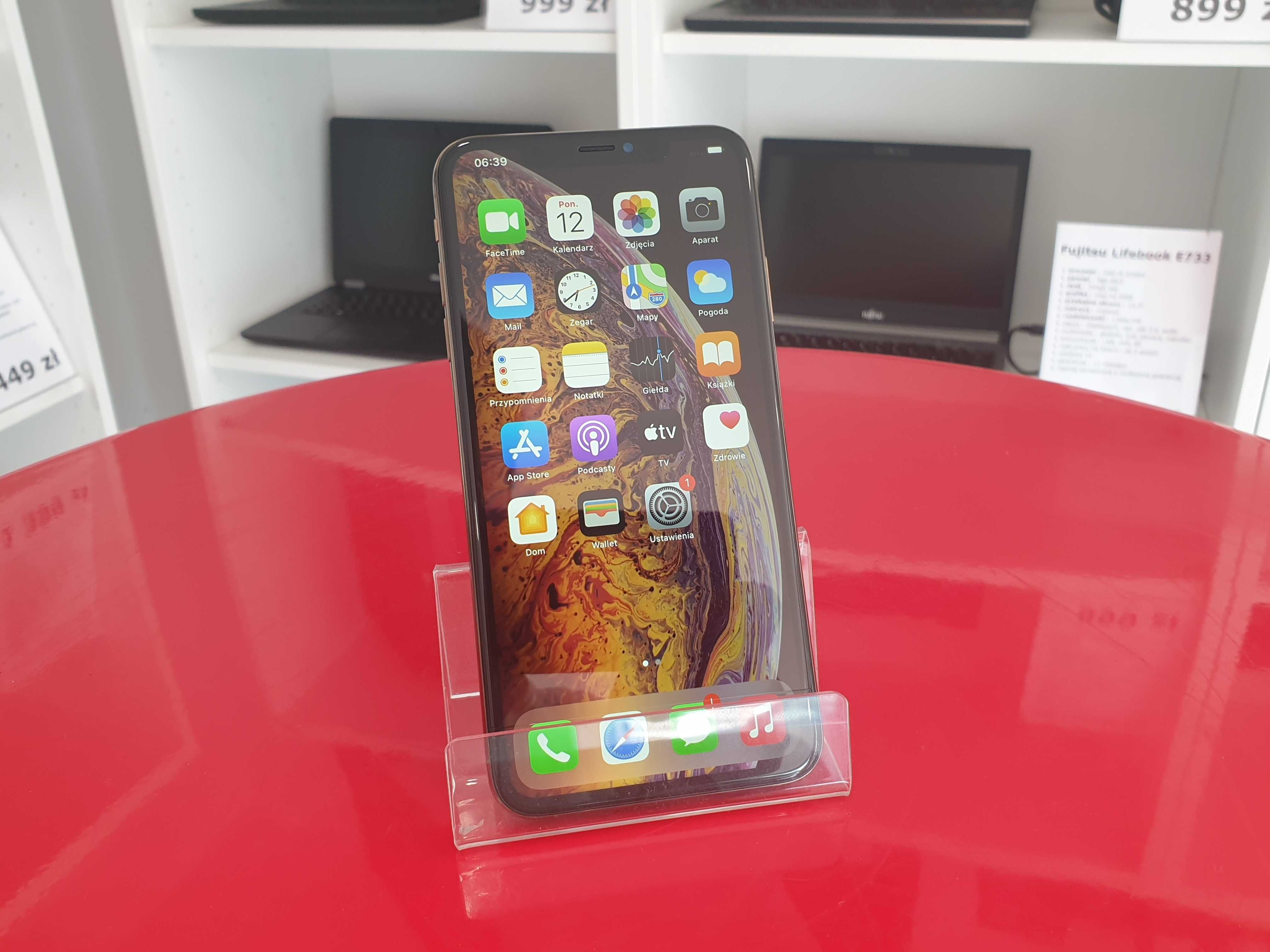 Apple iPhone XS Max 256GB Bez Blokad Gwarancja 12mc FV23%
