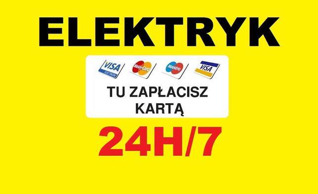 Tani i Sprawdzony Elektryk 24h - Gdańsk - wolne terminy szybki dojazd