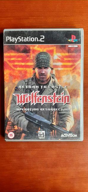 Return to castle Wolfstein: Operation Ressurrection playstation 2
