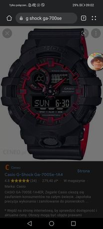 Zegarek męski g-shock