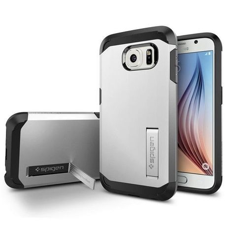 Pancerne Etui do Samsung Galaxy S6 Edge Pokrowiec SPIGEN Tough Armor