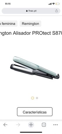 Alisador e modelador de cabelo Remington