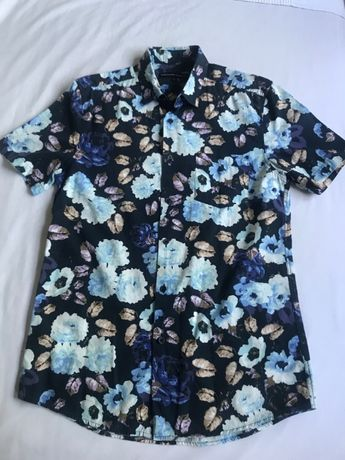 Koszula męska 38 krótki rękaw