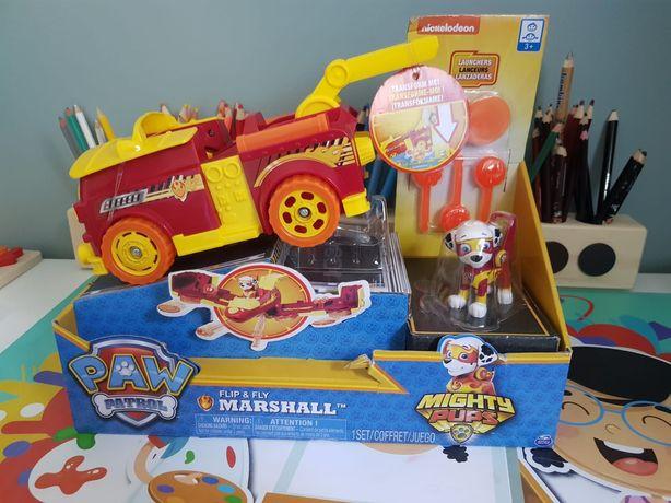 Pojazd transformujący Marshall  psi patrol
