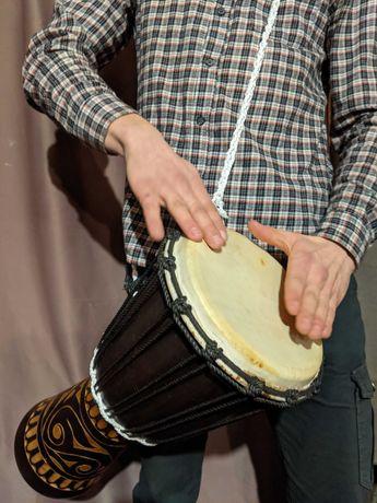 Джембе африканский, кахон, перкуссия, перкусія, джембо, барабан